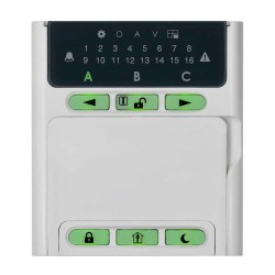 Teletek Eclipse LED16A Tuş Takımı - Keypad